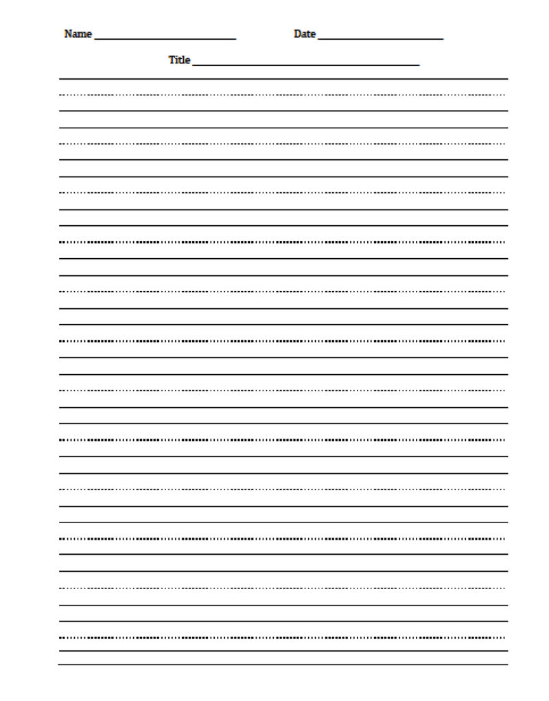 Handwriting Sheets For Primary School 5 001