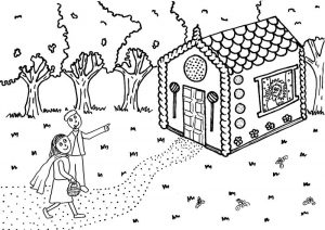 Hansel and gretel worksheets coloring