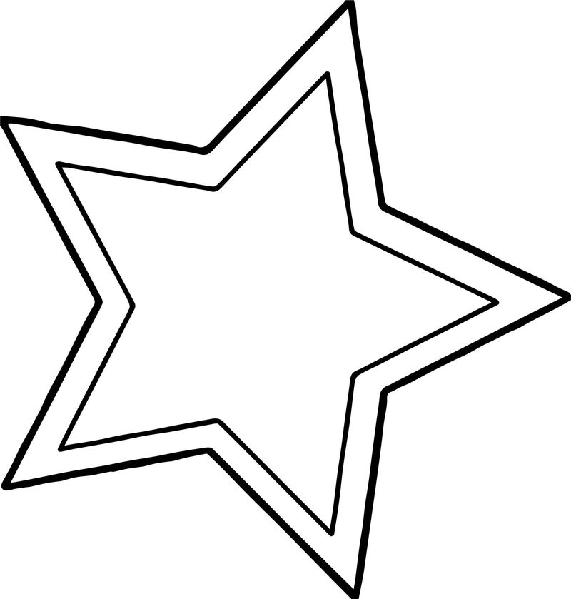 Happy Star Turn Coloring Page