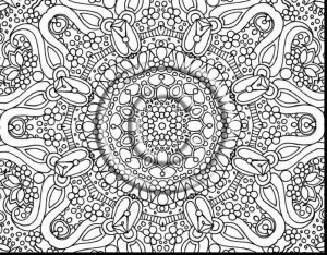 Hard coloring pages elegant