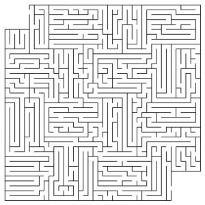 Hard mazes for adults activity 001