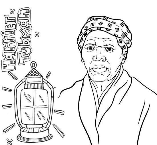 Harriet Tubman Quotes Coloring Pictures - Coloring Sheets