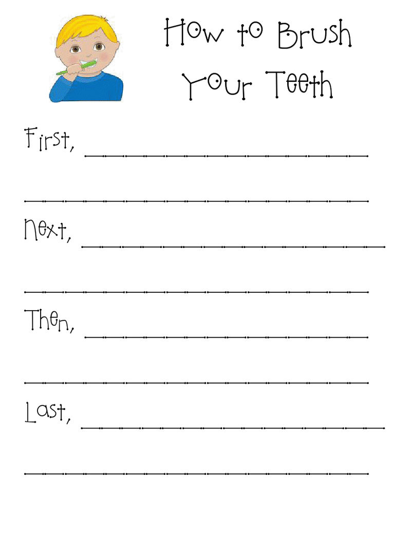 Health Grade 1 Worksheets Practice 001