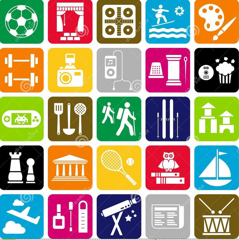 Hobbies For Kids Icon
