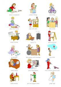Hobbies for kids page