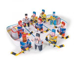 Hockey crafts for kids games