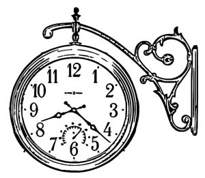 Howard miller 625 358 luis wall clock free printable hr cartoonized free printable coloring page