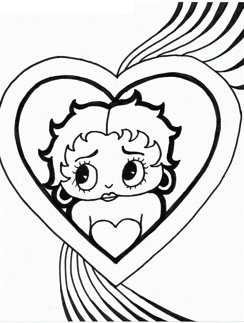 Human Heart Coloring Pages For Kids Coloring Sheets