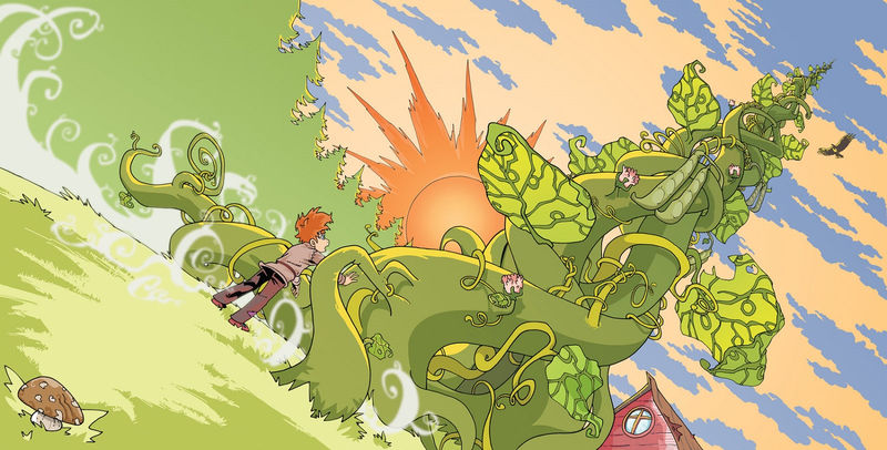 Jack And The Beanstalk Images Colorful