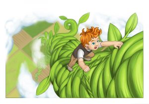 Jack and the beanstalk pictures cartoon