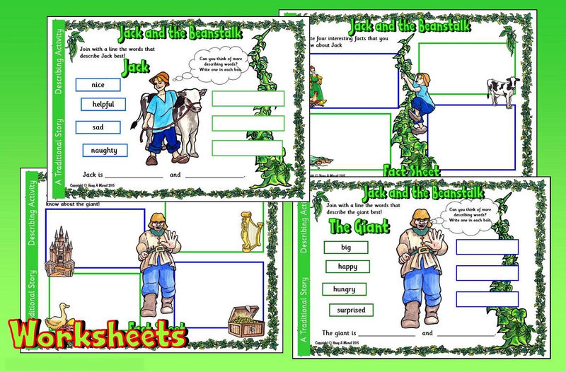 Jack And The Beanstalk Worksheets Fun