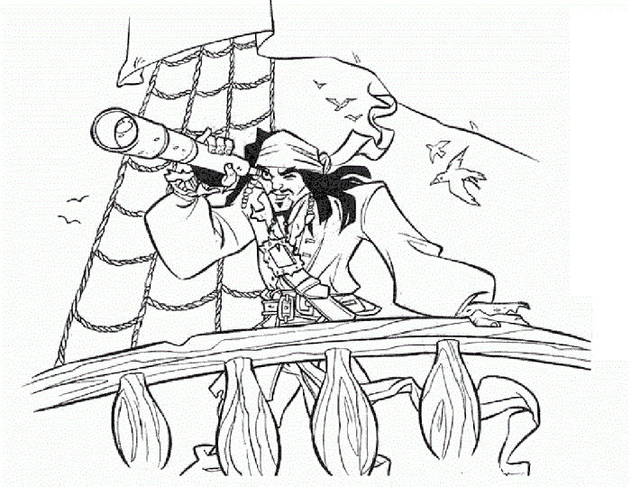 Jack And The Neverland Pirates Coloring Pages