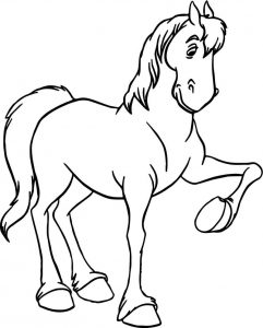 Jaq gus bruno horse coloring pages