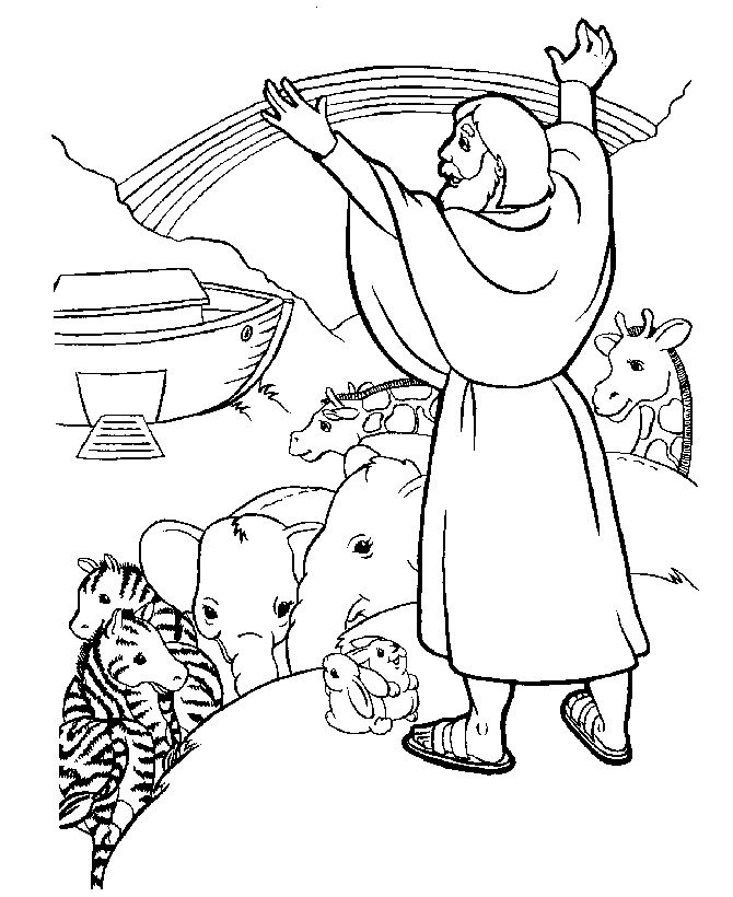 Jesus Bible Coloring Pages For Kids