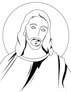 Jesus resurrection coloring pages