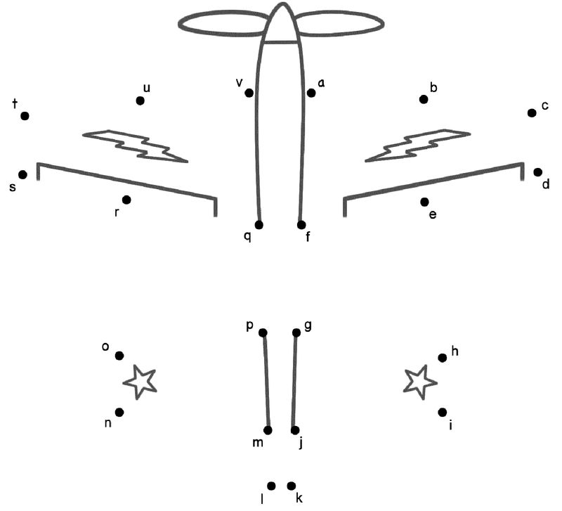 Join The Dots Airplane