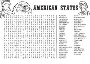Jumbo word search american