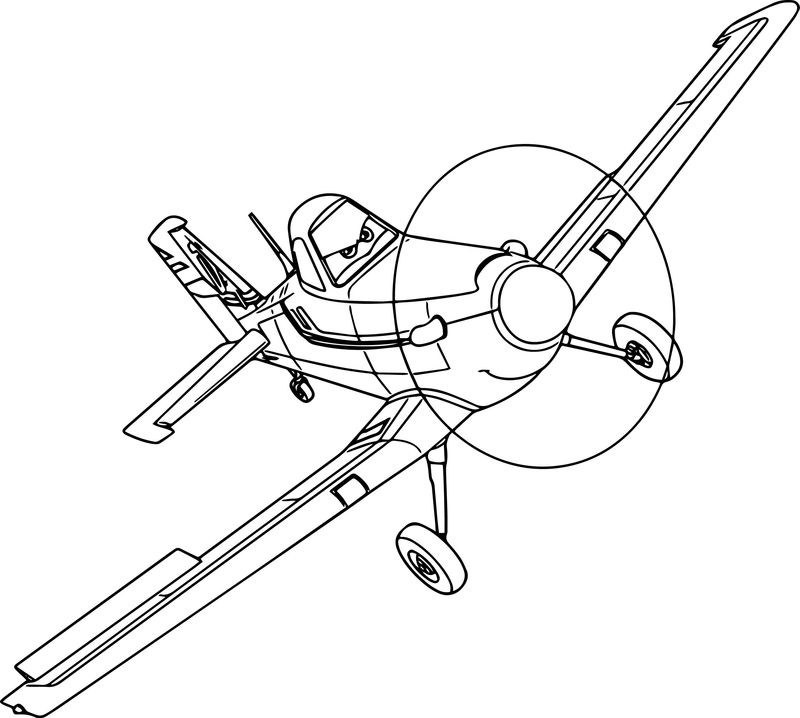 Just Disney Dusty Planes Coloring Pages