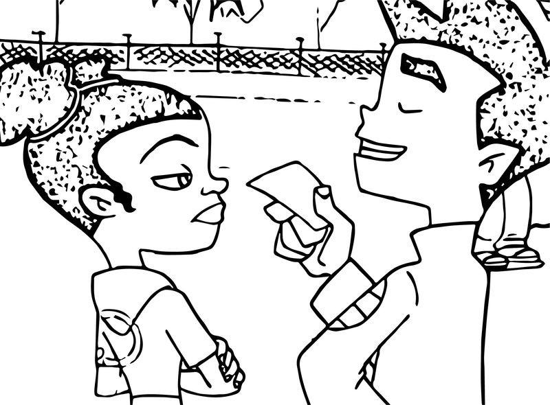 Keep Gettin Better American Dragon Jake Long Coloring Page