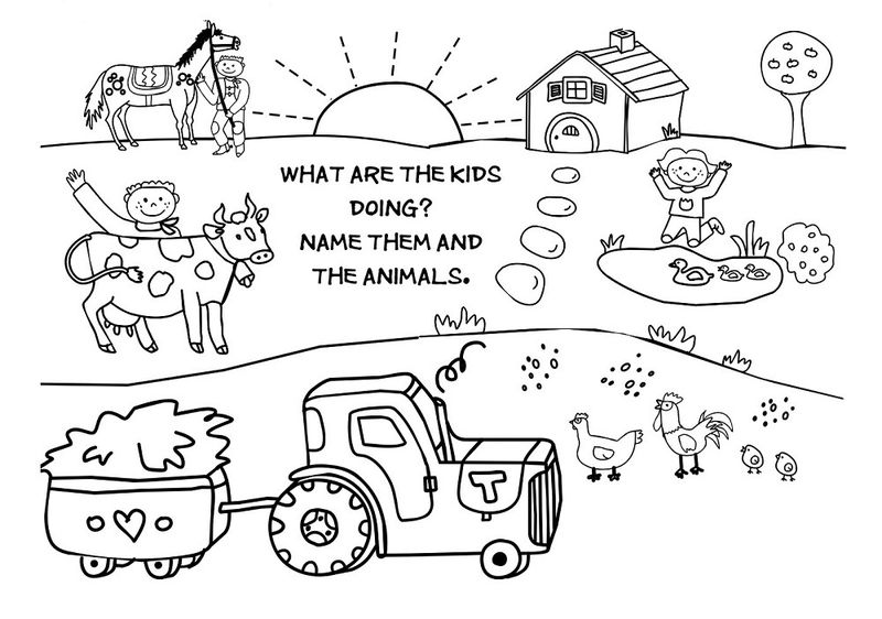 Kid Activity Pages Printables Fun