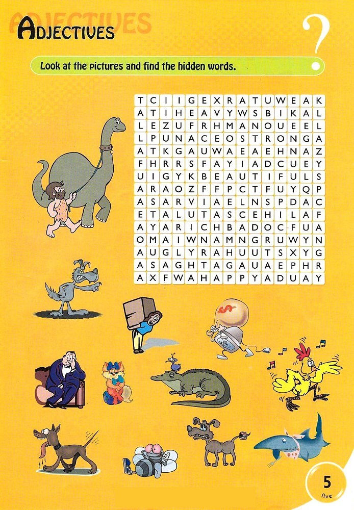 Kids Word Search Printable