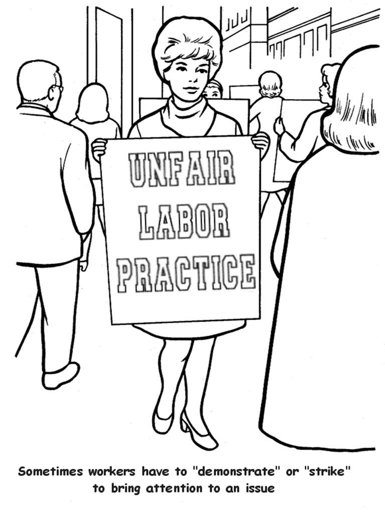 Labor Day Coloring Pages History