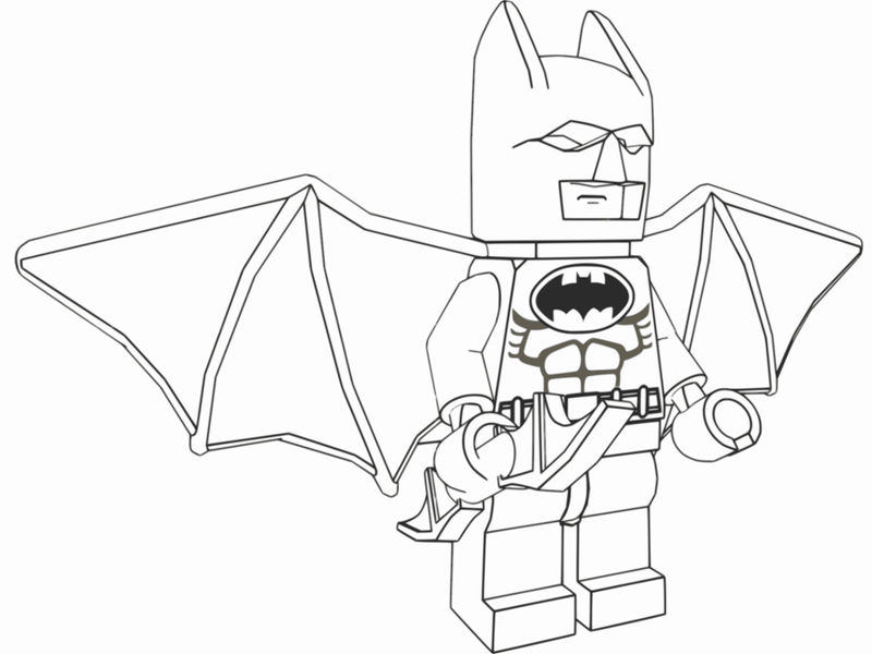 Lego Batman Wings Coloring Pages