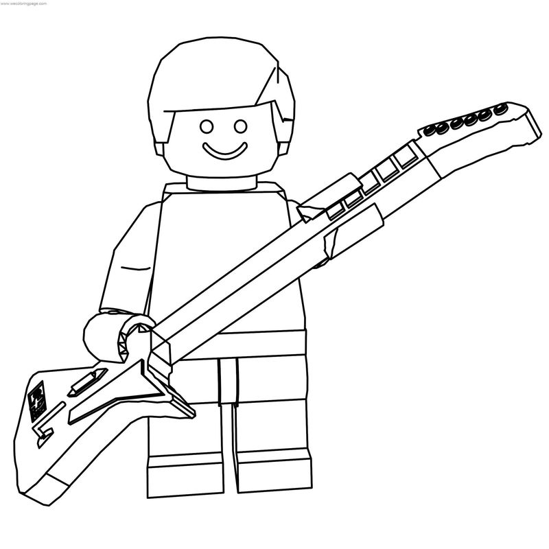 guitar hero coloring pages - photo#19