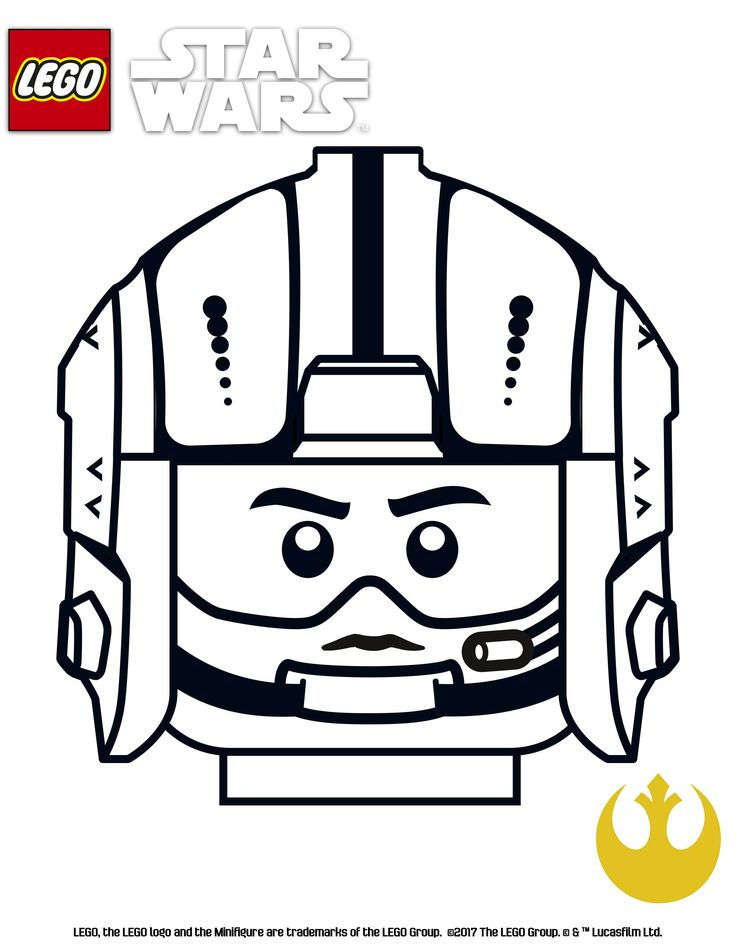 Lego Star Wars Printable Coloring Pages - Coloring Sheets