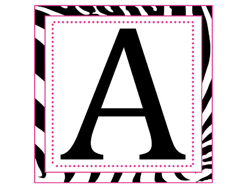Letter A Printable Large Size