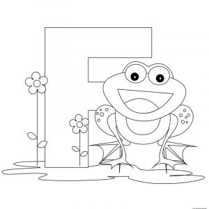 Letter f worksheet coloring pages
