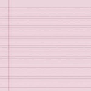Lined notebook paper template pink simple