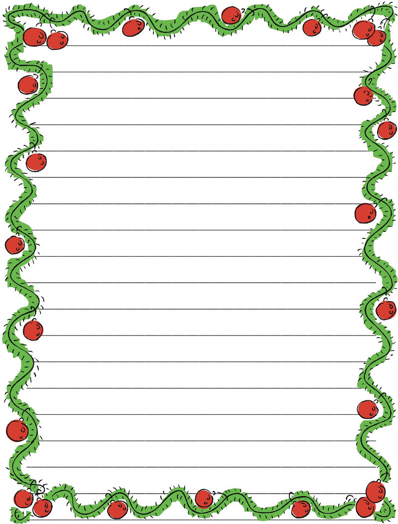 Lined Paper For Kids Simple