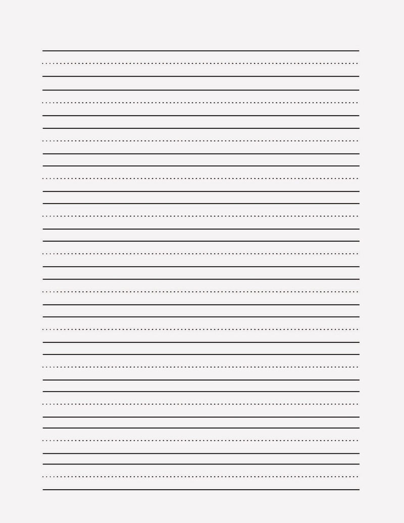 Lined Paper For Writing For Work