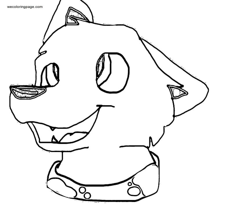 Look At That Face Coloring Page