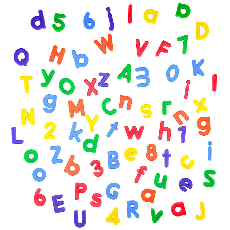 Magnetic Letters And Numbers For Kids