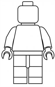 Man lego coloring pages 001