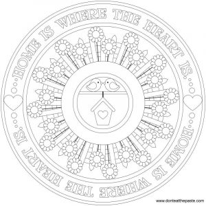 Mandala coloring pages donteatthepaste3
