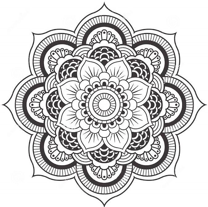 Mandala Coloring Pages Forcoloringpages4