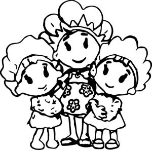 Mas fifi and the flowertots ingested coloring page