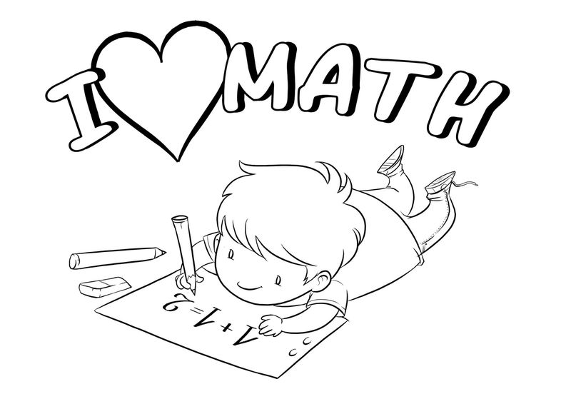 Math Coloring Pages Free Download