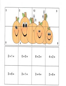 Maths image puzzles preschool 001