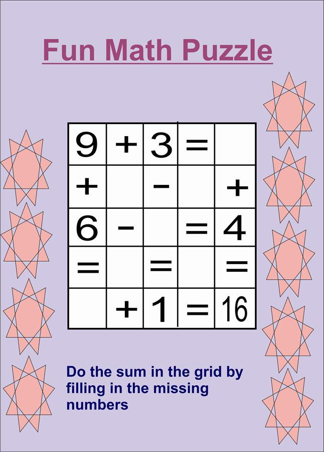 Maths Puzzles For Kids 3 001