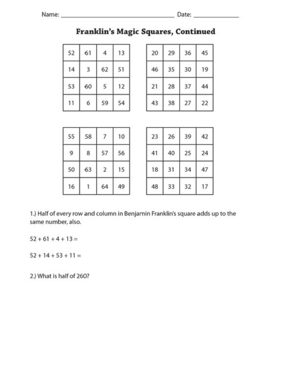 Maths Puzzles For Kids Printable 001