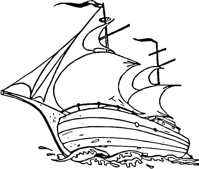 Mayflower Coloring Page Printables
