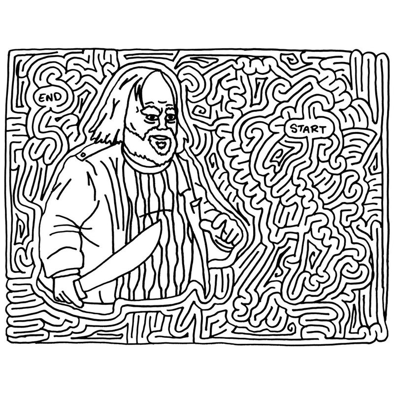 Maze Puzzles For Adults 1