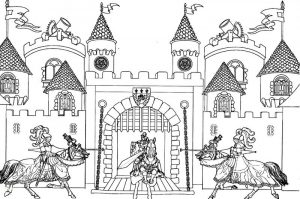 Medieval activities for kids castle