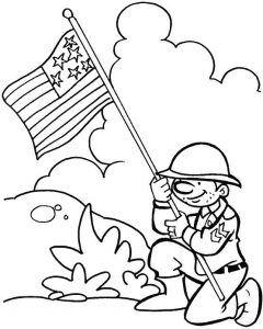Memorial day coloring pages printables