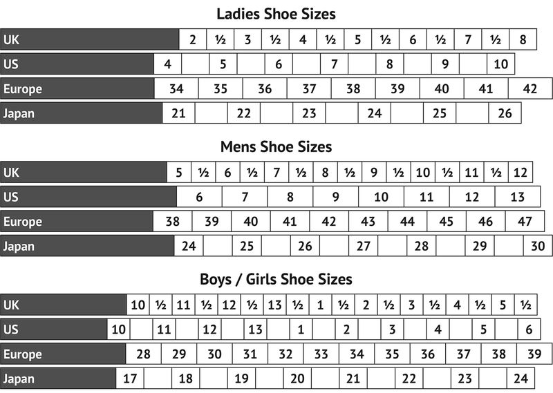 Mens Foot Size Chart Page 001
