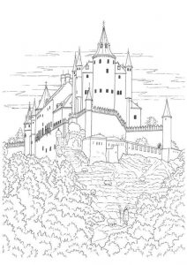 Middle ages worksheets coloring